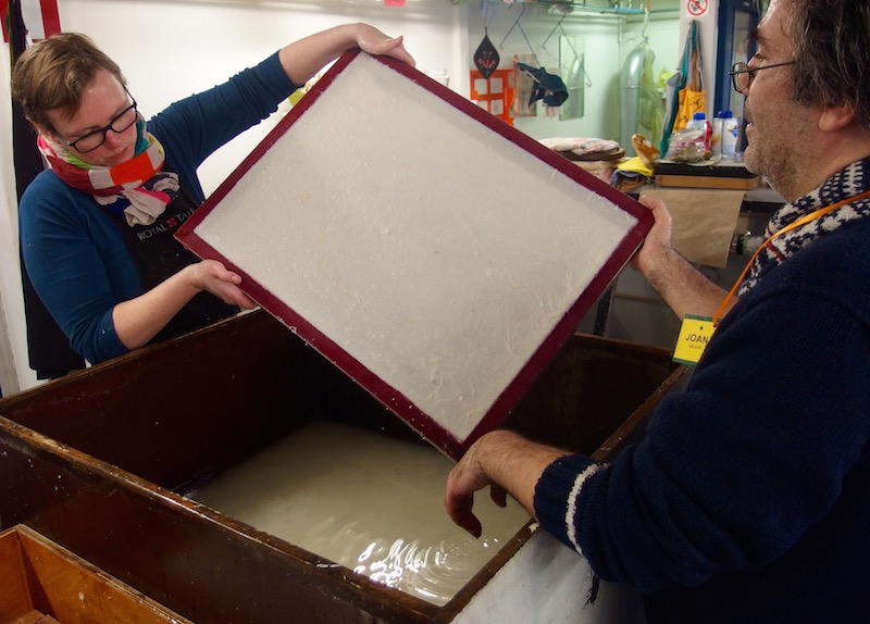 paper making, hemp paper