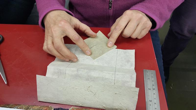 zhen xian bao, paper folding