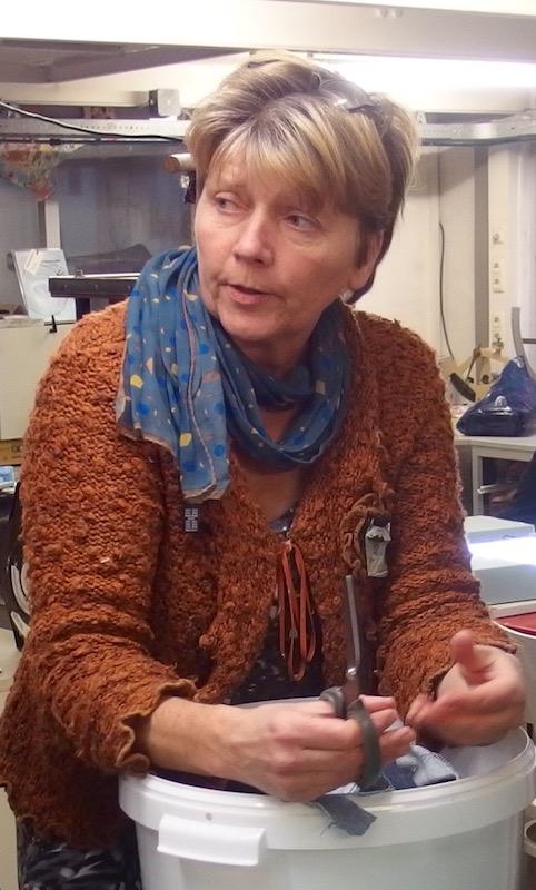 marieke de Hoop, Papiermakerij de Hoop, papermaker in The Netherlands,