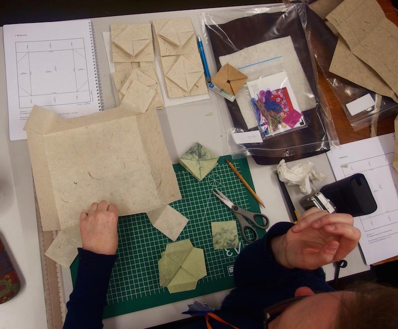 zhen xian bao, origami, paper folding, Chinese Art