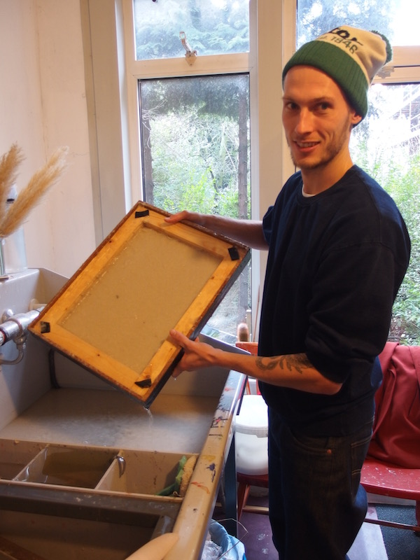 papier maken, papermaking