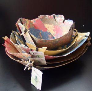 natural paper bowl