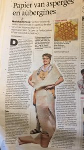 newspaper article on PapierLab