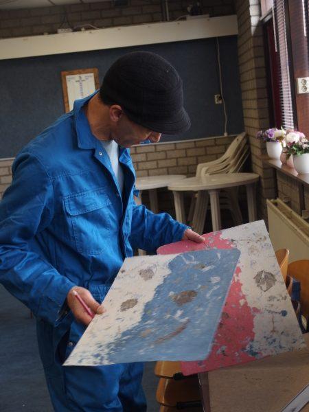 papier maken in Papierlab Rotterdam